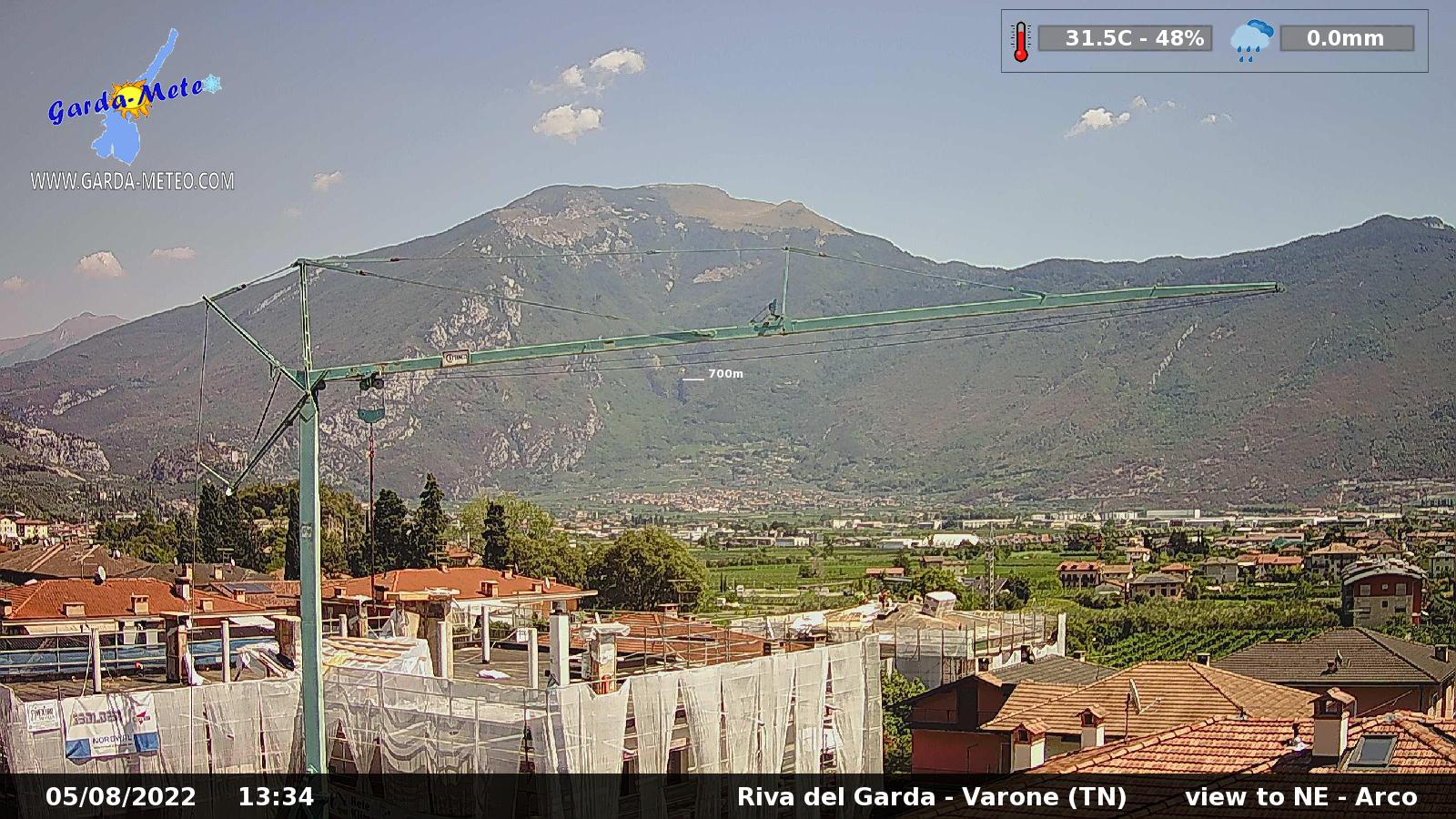 Webcam Riva del Garda - Varone TN